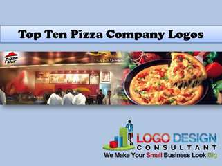 Top 10 Pizza Company Logos