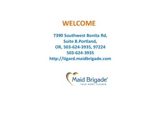 Beaverton House Cleaning Maid Service