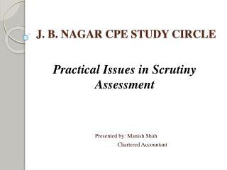 J. B. NAGAR CPE STUDY CIRCLE