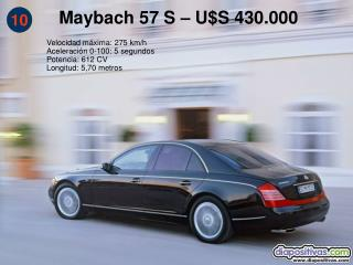 Maybach 57 S   US 430.000