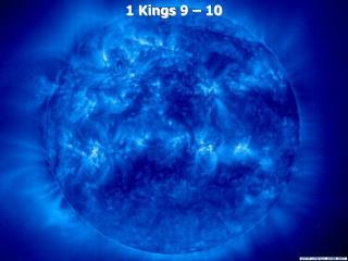 1 Kings 9   10