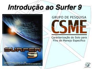 Introdu  o ao Surfer 9
