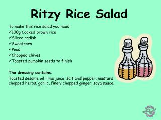 Ritzy Rice Salad