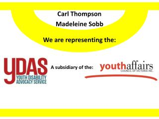 Carl Thompson Madeleine Sobb