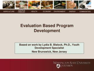 Evaluation Based Program Development