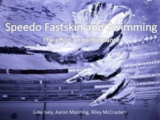 The effect on performance