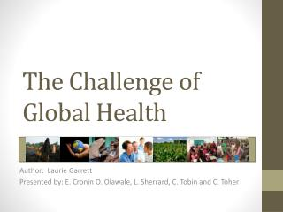 The Challenge of Global Health