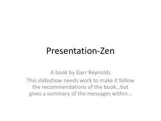 Presentation-Zen
