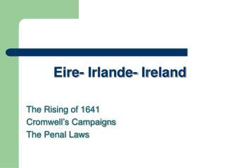 Eire- Irlande- Ireland