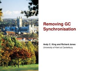 Removing GC Synchronisation