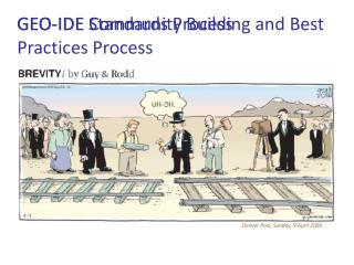 GEO-IDE Community Building and Best Practices Process