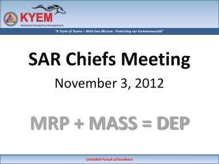 MRP  MASS  DEP