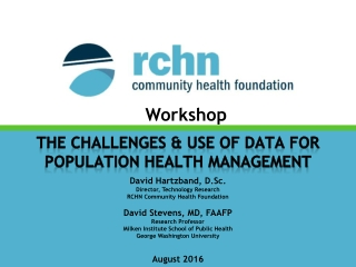 WORKSHOP  HEALTH MANAGEMENT