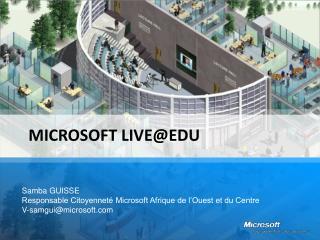 Microsoft LiveEDU