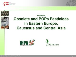 Exhibition Obsolete and POPs Pesticides in Eastern Europe,  Caucasus and Central Asia