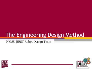 The Engineering Design Method