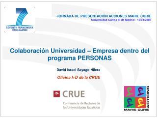 Colaboraci n Universidad   Empresa dentro del programa PERSONAS