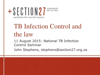 National TB Control Programme Ministry of Health