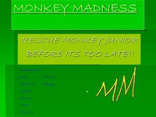 Group 1: Monkey Madness