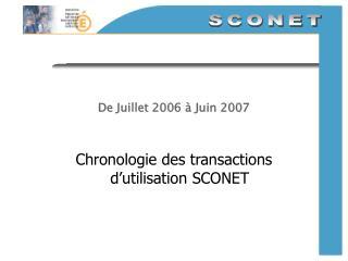 De Juillet 2006   Juin 2007