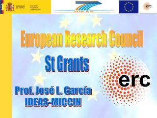 Prof. Jos  L. Garc a IDEAS-MICCIN