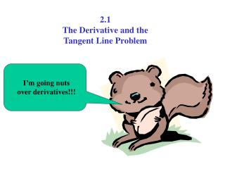 I m going nuts over derivatives