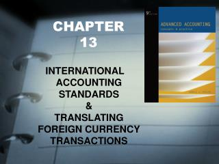 INTERNATIONAL ACCOUNTING STANDARDS    TRANSLATING FOREIGN CURRENCY TRANSACTIONS