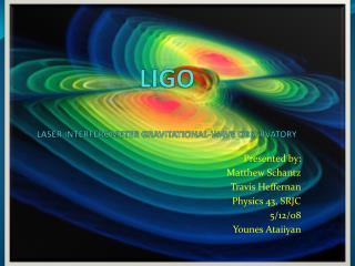 LIGO  LASER INTERFEROMETER GRAVITATIONAL-WAVE OBSERVATORY