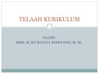 TELAAH KURIKULUM