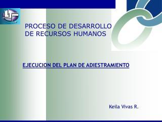 PROCESO DE DESARROLLO DE RECURSOS HUMANOS