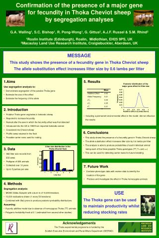 EAAP Poster