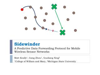 Sidewinder A Predictive Data Forwarding Protocol for Mobile Wireless Sensor Networks