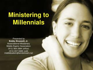 Ministering to  Millennials