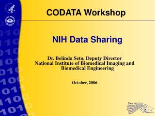 NIH Data Sharing