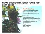 NEPAL BIODIVERSITY ACTION PLAN  RED DATA BOOKS