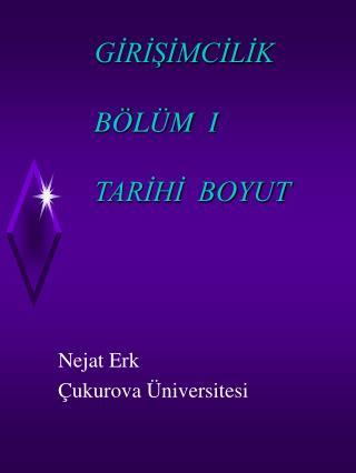 GIRISIMCILIK       B L M  I       TARIHI  BOYUT