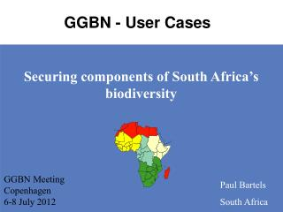Securing components of South Africa s biodiversity