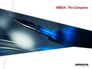 MBDA: The Company