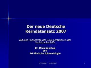 Der neue Deutsche Kerndatensatz 2007
