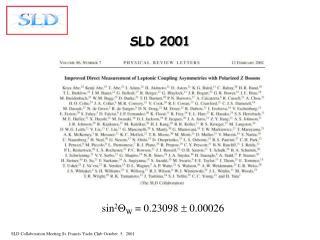 SLD 2001