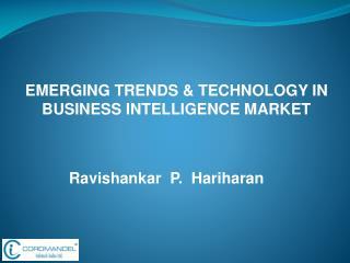 Ravishankar  P.  Hariharan
