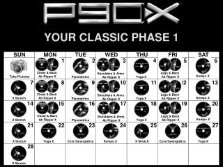 YOUR CLASSIC PHASE 1