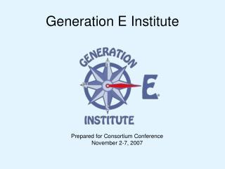 Generation E Institute