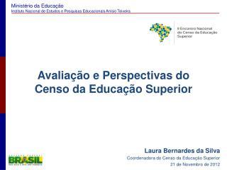Avalia  o e Perspectivas do Censo da Educa  o Superior