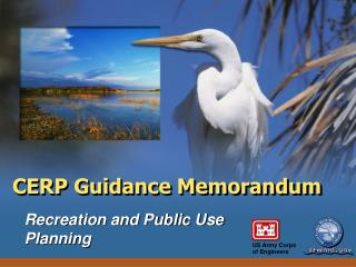 CERP Guidance Memorandum