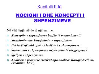Kapitulli II-t