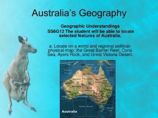 Australia s Geography