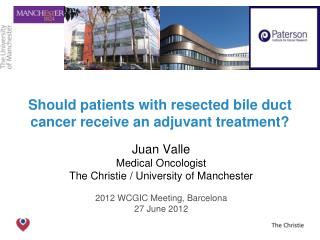 Should patients with resected bile duct cancer receive an adjuvant treatment