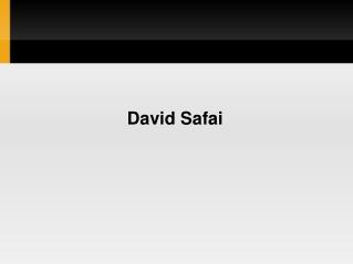 David Safai