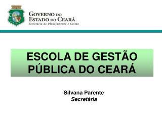 ESCOLA DE GEST O P BLICA DO CEAR